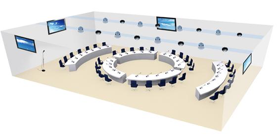 Hệ âm thanh hoàn chỉnh cho phòng họp trực tuyến